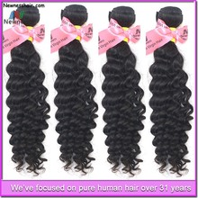 Health Products No Chemical Processed virgin brazilian and peruvian hair bulk