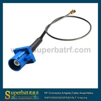 15cm 1.13mm 1.37mm GPS antenna Extension cable Fakra C male to u. FL / IPX female pigtail cable