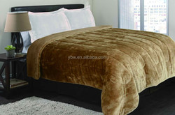 Chocolate Color Thick & Warm Blanket, Bedding Set Quilt