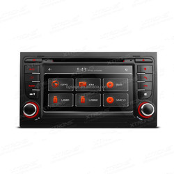 """Xtrons PF71A4AGT-7""""1080P Video HD Digital Touch Screen DVD Player with GPS Navigation Dual Channel CANbus for Audi A4 / S4 / RS4"""