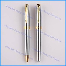 MP275 Silver Metal Engraved Ball-point Pen