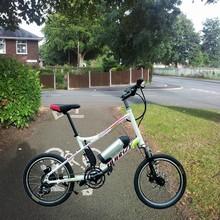 Take it! Portable light folding electric bicycle, mini electric folding bike, adult folding scooter