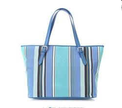 XuYu Speical cotton stripe tote bag,light color summer women handbag, Promotion tote bag