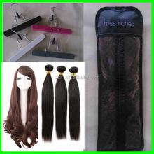 high quality ziplock hair packaging bags, plastic packaging for hair extensions