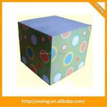 Onzing good quality alibaba office logo custom cube plastic pen
