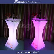 lighting fold table / height adjust lighting furniture