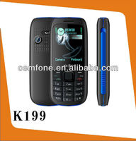 2013 latest hottest mobile phone with dual sim card K199