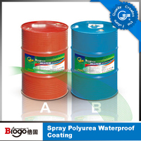 Polyurea roof waterproof coating/waterproof liquid membrane/polyurea waterproof liquid