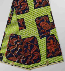 Hollandais 1012(73) wholesale african wax print fabric printed cotton fabric 6 yrds 100% polyester