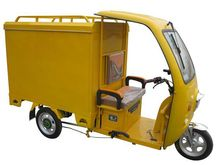 newest 500w Powerful Moped Cargo Tricycle with Cabin CCC