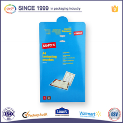 Custom made high quality blue fancy gift paper bags