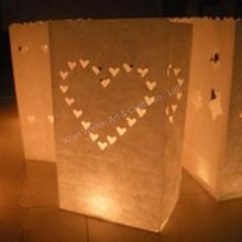 Event & party suplies fireproof candle bag