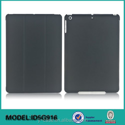 New design folio cover case for iPad air , For iPad 5 leather case