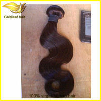 Full cuticle 6a virgin remy hair extension dark brown hair color pictures