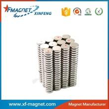 N35/N38/N40/N42/N45/N48/N50/N52 Magnet Disc Shape For Wholesales