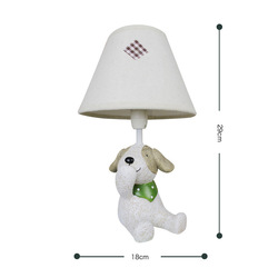 HGHomeart zakka grocery creative home decoration bedside lamp sky lamp resin crafts three no puppy