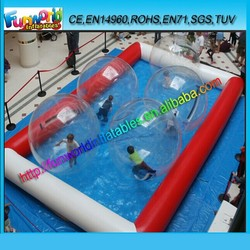 2014 New Design Inflatable Pool / Inflatable Water Pool / Inflatable Swimming Pool For Sale