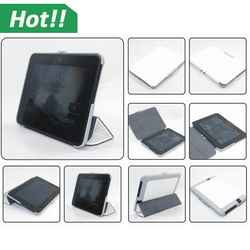 Tri-Fold Stand Shell magnetic back Cover Leather case For Amazon Kindle Fire HD