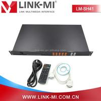 HDMI Audio Video Quad screen Processor with USB+VGA+CVBS ports