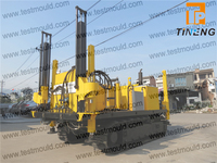 hydraulic static cone penetrometers, crawer type CPT vehicle