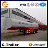 2015 new crude oil tanker trailer,diesel fuel storage tank for sale with low price
