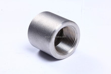 China support Standard Round Female Threaded Stainless Steel Pipe End Cap