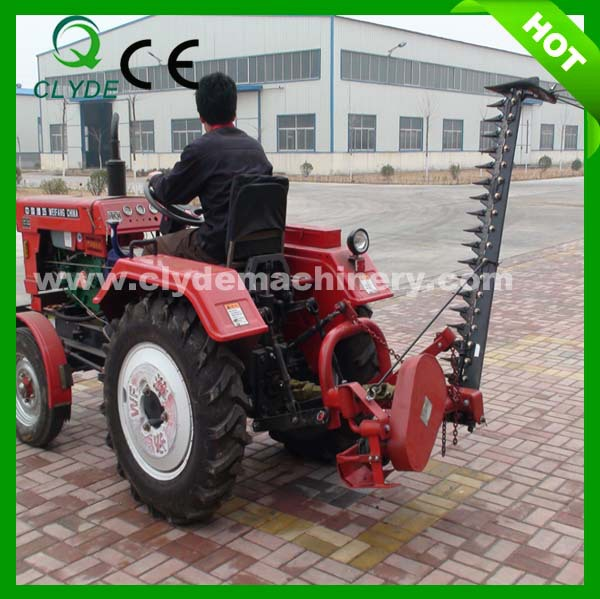 Tractor Mounted Brush Cutter : Tractor mounted hedge cutter brush for lawn