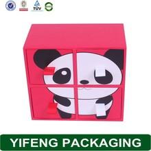 Encai Dot Style Folding Clothes Storage Boxes Cheap Storage Drawer 4Layers