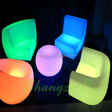 Beautiful Night Glow Sofa Set For Party