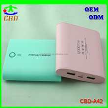 2015 Hot Sale Fashionable Higt Quality Mobile Power of 10400mah Capacity