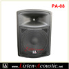 08 inch Professional Full Range Plastic Speaker Box PA-08