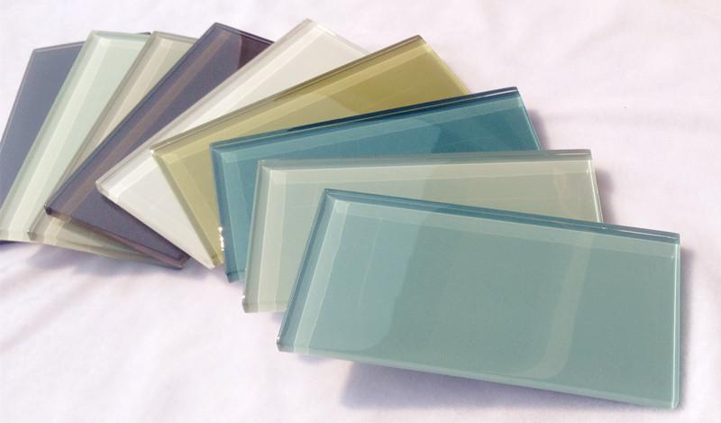 Blauw grijs en wit crystay glazen tegels voor badkamer en keuken backsplash muur moza eken - Kleur schilderij gang ingang ...