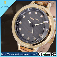 Ladies Leather Wrist Watches Black Leather Watch Women Leather Watch
