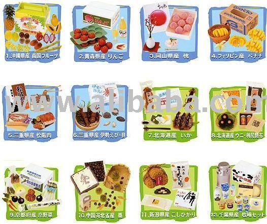 Re-ment Miniature Dollhouse Foods & Fruit & Samples Toy