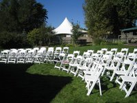 Hot Sale White Wedding Party Manufacturer Outlet Wood Wimbledon Chair