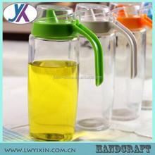 Leakproof fancy olive oil 500ml glass bottle for oil or vinegar