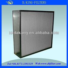 pre-filtro para la filtración de aire