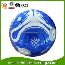 Professional size 5 laser pvc soccer ball