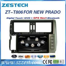car multimedia for Toyota Prado car multimedia 2014 with gps radio video TV 3G ZT-T806