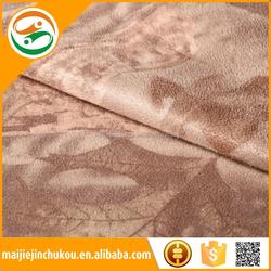 Beat sale sofa print suede fabric sofa backing brush fabric/sofa fabric manufacturers