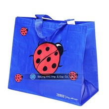 Fashionable high quality PP full color lamination non woven bag for shopping