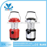 new product durable ABS plastic 4+1led camping lantern