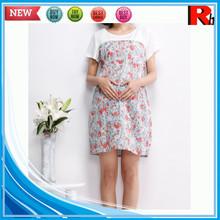 Alibaba china 100% cotton soft printing custom wholesale wholesale maternity wear muslim