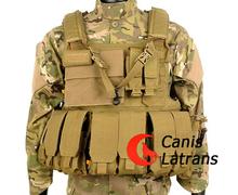 4-0018 Nylon Molle Táctico Ejército Militar Combate Armor Defensivo Asalto Huelga Chaleco Plate Carrier