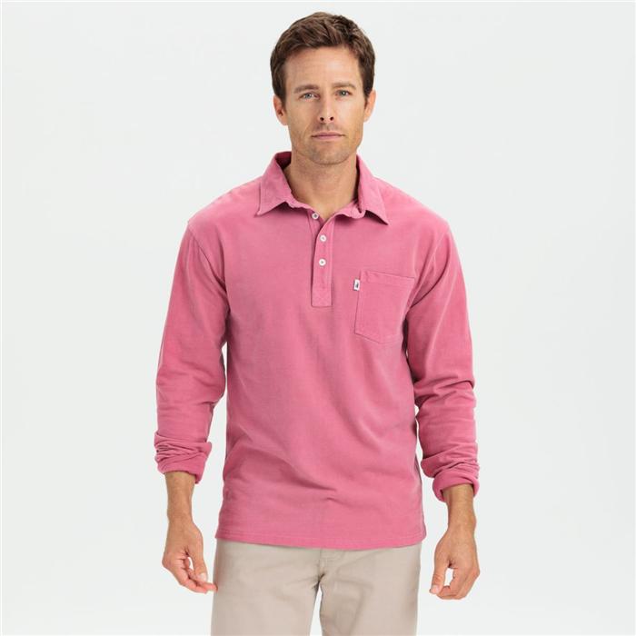 Custom Long Sleeve Polo Cotton Man Polo T Shirt Wholesale