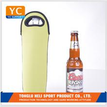 Neoprene cup single rubber foam wrap beer super strong magnetic neoprene cup sleeve