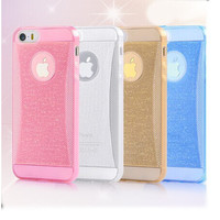beautiful soft tpu bling back cover cases for iphone 4s