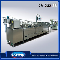2015 High Speed Cream Filling Biscuits Sandwiching machine with Packaging Machine