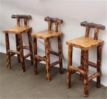 Diseño antiguo de madera silla de la barra caliente venta / silla de la barra made in China