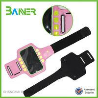 Portable outdoor training neoprene Mobile phone armband for running